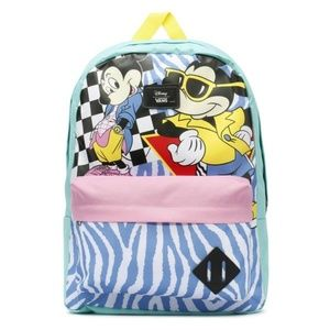NWT Vans x Disney 80's Hyper Mickey Mouse Backpack